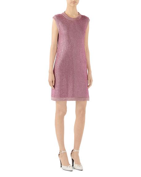 Sparkling Knit Shift Dress