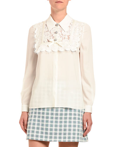 Camcie Sable Pizzo Blouse