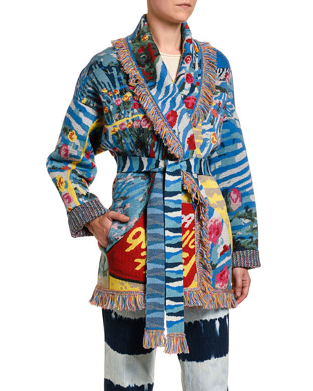 Love Is Universal 70's Knit Cardigan