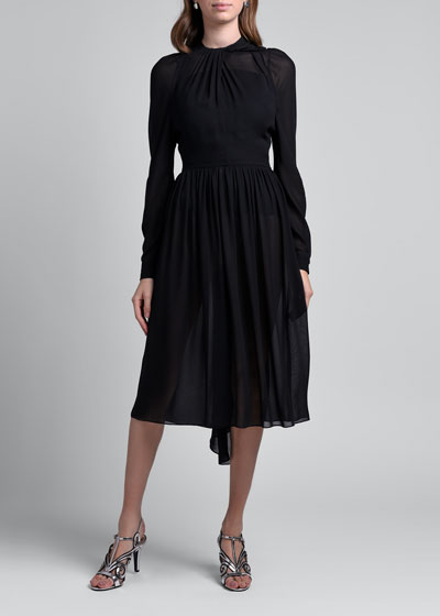 Flowy Sable Dress
