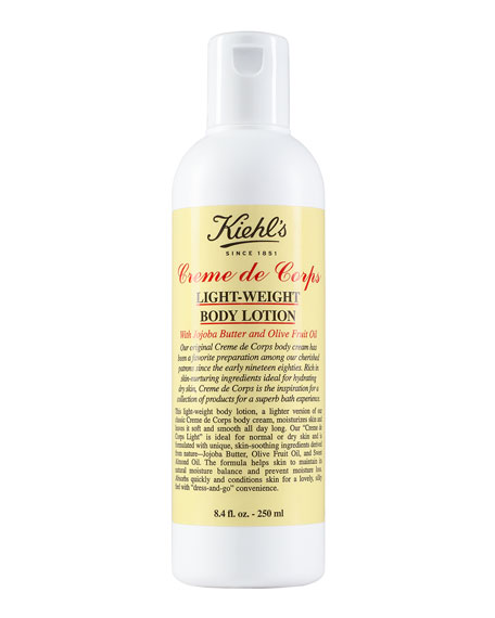 Creme de Corps Light-Weight Body Lotion, 8.4 oz.
