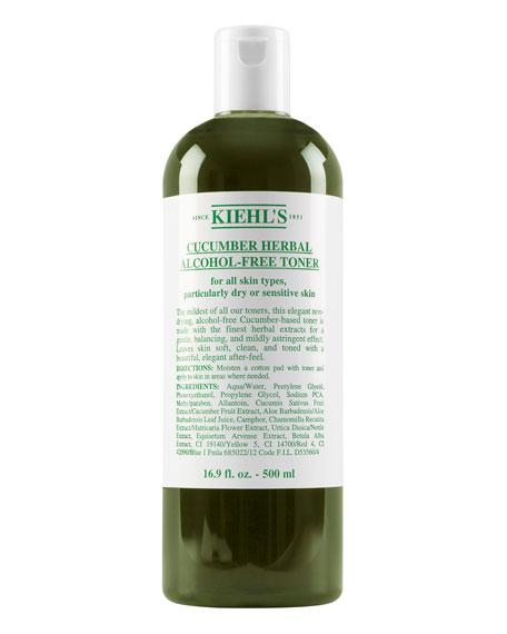 Cucumber Herbal Alcohol-Free Toner, 16.9 oz.