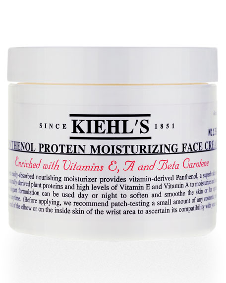 Panthenol Protein Moisturizing Face Cream, 4.0 oz.