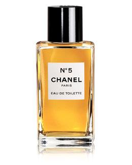 CHANEL N°5 <br>Eau de Toilette Bottle 3.4 oz.