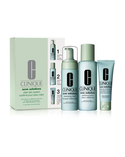 Acne Solutions Clear Skin System Kit