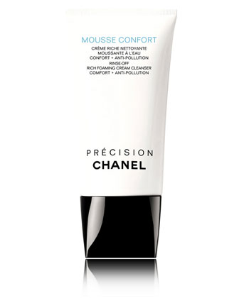 CHANEL MOUSSE CONFORT RINSE-OFF RICH FOAMING CREAM CLEANSER