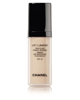 CHANEL LIFT LUMIÈRE<br>Firming And Smoothing Sunscreen Fluid Makeup Broad Spectrum SPF 15