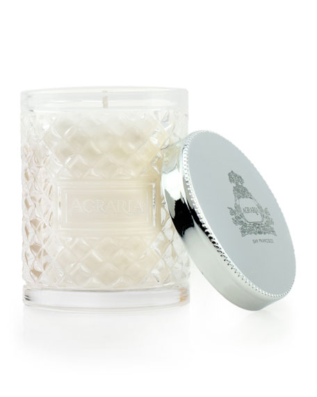 Lemon Verbena Crystal Cane Candle, 3.4 oz.