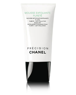 CHANEL MOUSSE EXFOLIANTE PURETE RINSE-OFF EXFOLIATING CLEANSING FOAM PURITY + ANTI-POLLUTION
