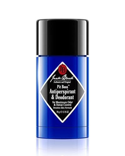 Pit Boss Antiperspirant Deodorant, 2.75 oz.