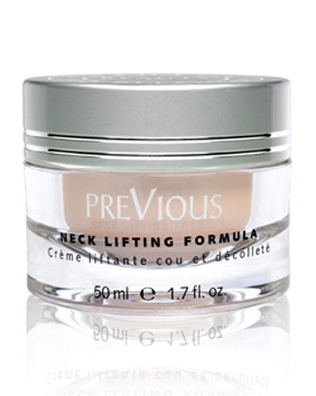PreVious Neck-Lifting Formula