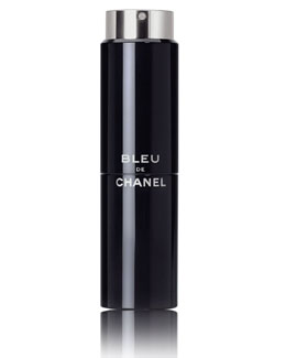 CHANEL BLEU DE Eau de Toilette Refillable Travel Spray 3 X 0.7 oz.