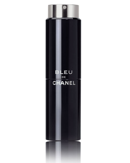 <b>BLEU DE CHANEL</b><br> Eau de Toilette Refillable Travel Spray 3 X 0.7 oz./ 20 mL