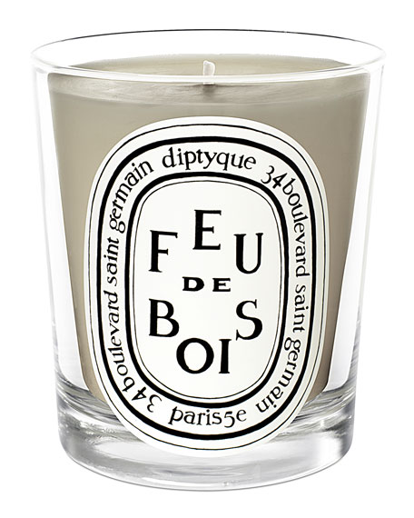 Feu de Bois Scented Candle, 190gented Candle