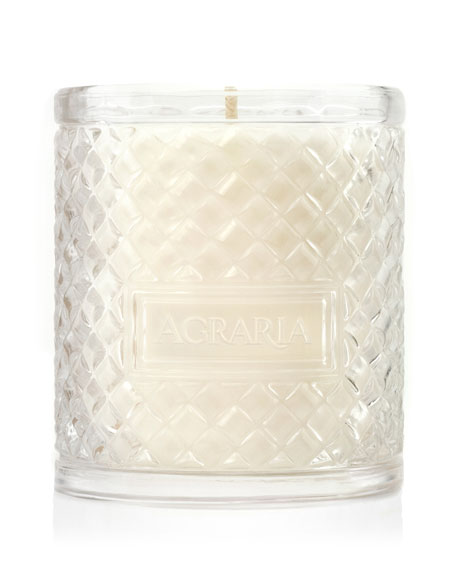 Cedar Rose Woven Crystal Perfume Candle, 7 oz.