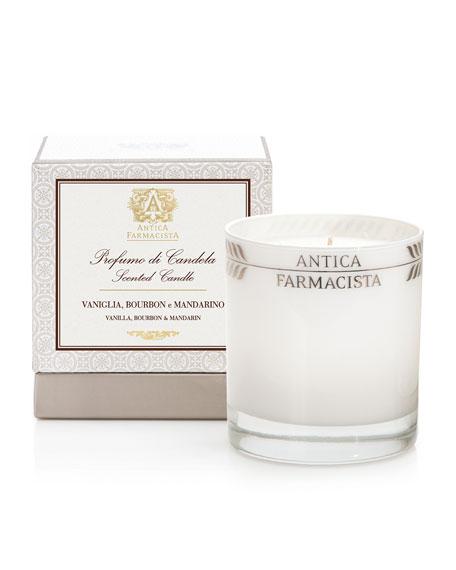 Antica Farmacista Vanilla, Bourbon & Mandarin Scented Candle,