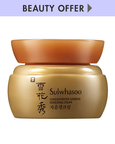 Yours with any Sulwhasoo purchase—Online only*
