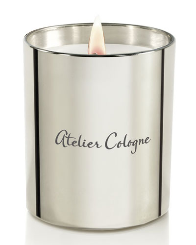 Gold Leather Candle