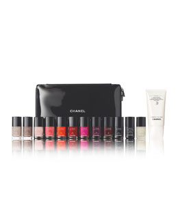 CHANEL LIMITED EDITION and EXCLUSIVE CHANEL  L'EDITION ULTIME NAIL SET
