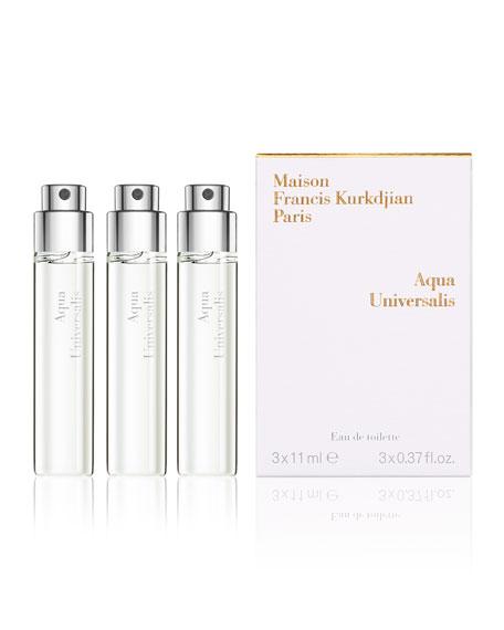 Aqua Universalis Eau de Toilette Travel Spray Refills, 3 x 0.37 oz./ 11 mL