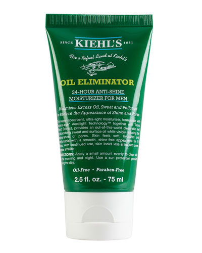 Oil Eliminator 24-Hour Anti-Shine Moisturizer for Men, 2.5 oz.