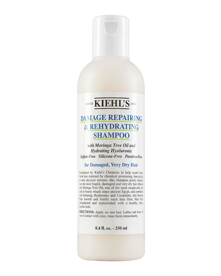Damage Repairing & Rehydrating Shampoo, 8.4 oz.