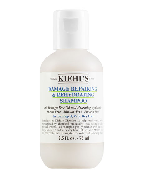 Damage Repairing & Rehydrating Shampoo, 2.5 oz.