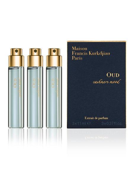 OUD cashmere mood Eau de Parfum Spray Refills, 3 x 0.37 oz.