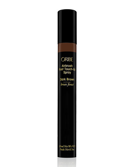 Oribe Airbrush Root Touch-Up Spray, Dark Brown, 0.7