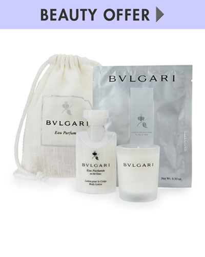 Yours with any $125 Bvlgari purchase