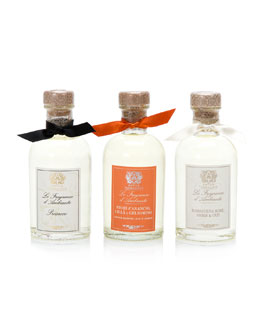 Collection of 3 Home Ambiance Diffusers: Prosecco, Rose and Orange Blossom, 3 x 100 mL