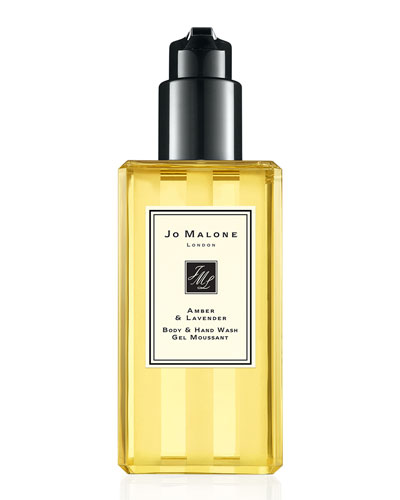 Amber & Lavender Body & Hand Wash, 250ml