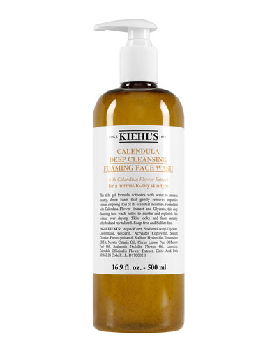 Calendula Deep Cleansing Foaming Face Wash, 16.9 oz