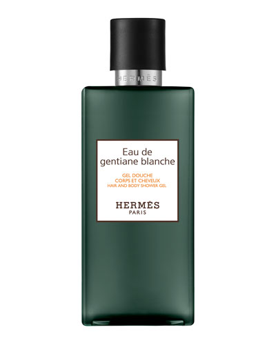 Eau de Gentiane Blanche Hair and Body Shower Gel, 6.7 oz.