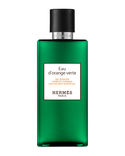 Eau d'orange vert Hair and Body Shower Gel, 6.7 oz.