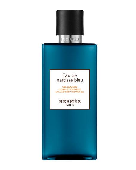 Eau de Narcisse Bleu Hair and Body Shower Gel, 6.7 oz.