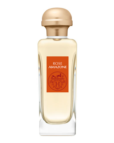 Rose Amazone Eau de Toilette Spray, 3.4 oz./ 100 mL