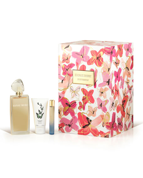 Hanae Mori Butterfly Deluxe Fragrance Set