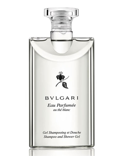 Eau Parfumée Au Thé Blanc Shampoo and Shower Gel  6.8 oz.