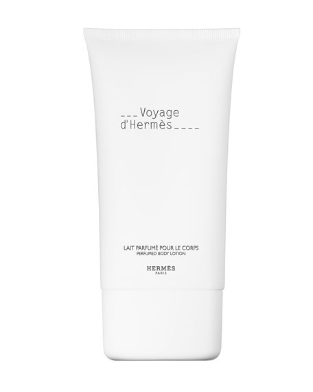 Voyage d'Hermès Perfumed Body Lotion, 5 oz.