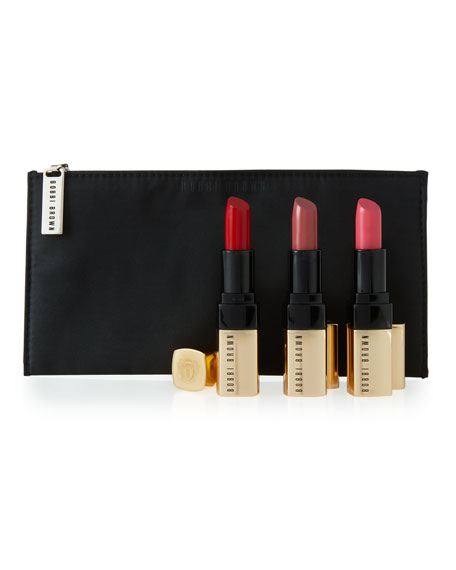 Bobbi Brown Luxe Lip Trio ($125 Value)