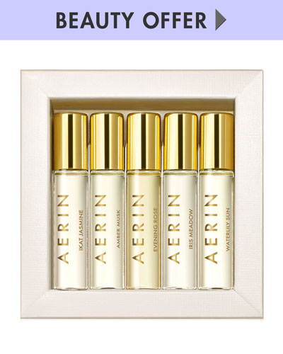 Yours with any $75 Aerin purchase