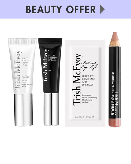Receive a free 5-piece bonus gift with your $150 Trish McEvoy purchase