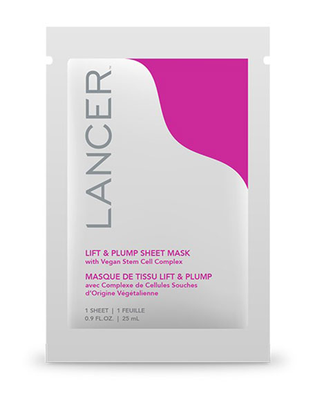 Lancer Lift & Plump Sheet Mask, 1 count