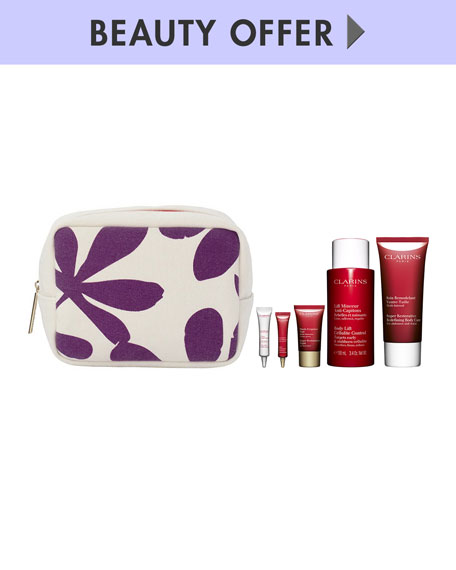 Receive a free 6-piece bonus gift with your $175 Clarins purchase
