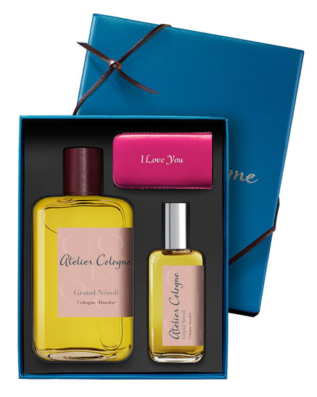Grand Neroli Cologne Absolue, 200 mL with Personalized Travel Spray, 30 mL
