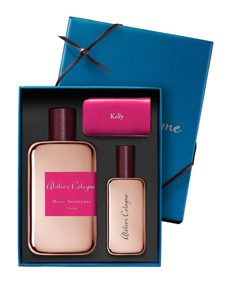 Rose Anonyme Extrait Cologne Absolue, 200 mL with Personalized Travel Spray, 30 mL