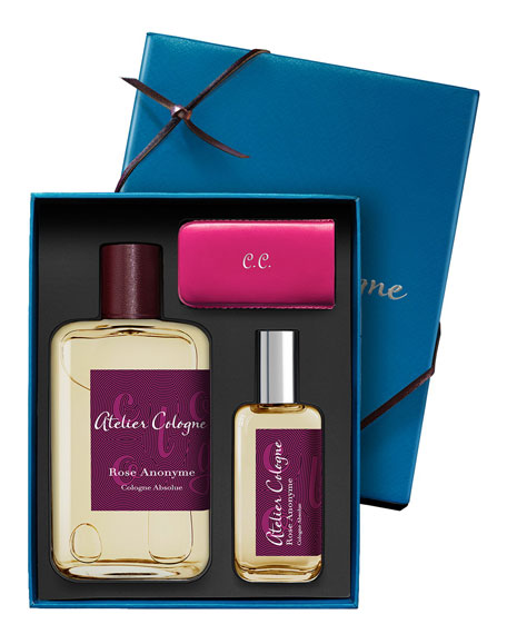 Rose Anonyme Cologne Absolue, 200 mL with Personalized Travel Spray, 30 mL