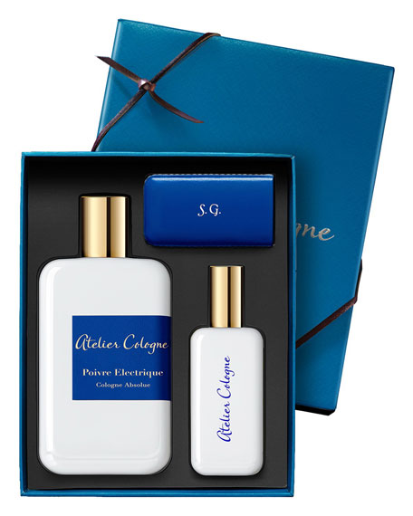 Poivre Electrique Cologne Absolue, 200 mL with Personalized Travel Spray, 1.0 oz./ 30 mL