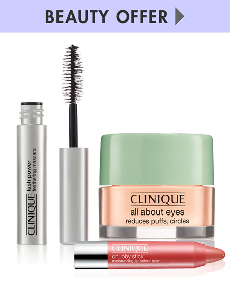 Receive a free 3piece bonus gift with your $75 Clinique purchase